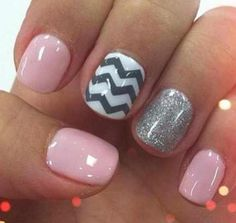 Cute! Love gray and pink!