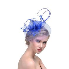 91ef9eadae143 floor Cocktail Fashion Sinamay Fascinator Hat Flower Design Flower Derby Hat  for Women