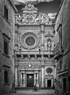 Basilica di Santa Croce , Lecce, Italy (heel of Italy)