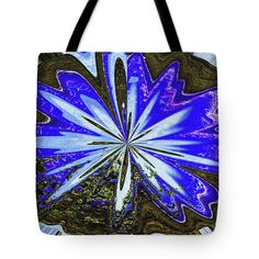Joshua Tree And Wind Generators Abstract Tote Bag by Tom Janca.  The tote bag is machine washable, available in three different sizes, and includes a black strap for easy carrying on your shoulder.  All totes are available for worldwide shipping and include a money-back guarantee.