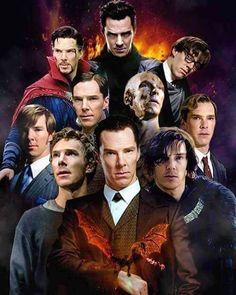 The roles of the amazing Benedict Cumberbatch
