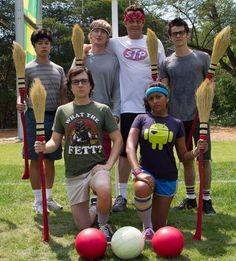 Tobit Raphael, Owen Wilson, Vince Vaughn, Dylan O'Brien, Josh Brener, Tiya Sircar - The Internship 2012