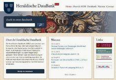 Heeft u een familiewapen? Neem eens een kijkje in de Heraldische DataBank (HDB), een product van het Centraal Bureau voor Genealogie (CBG).