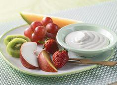 Délice fruité avec trempette - Recettes | Plaisirs laitiers - Nourrir votre quotidien