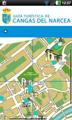 Descárgate ya la aplicación de La Guía Turística de Cangas del Narcea en tu móvil y descubre los rincones más maravillosos de este concejo!<p>La aplicación contiene:<p>- Información sobre Cangas del Narcea, datos de interés e historia del concejo. <br>- Fotografías de los lugares más característicos.<br>- Mapa de localización y callejeros con puntos descriptivos.<br>- Monumentos y patrimonio.<br>- Museos y centros de interpretación.<br>- Rutas, excursiones y espacios naturales.<br>- Agenda…