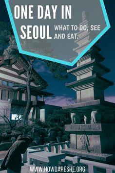 seoul in a day