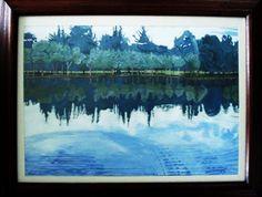 Azul  2012 Acrílico/Lienzo