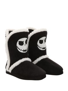 The Nightmare Before Christmas Jack Slipper Boots on Wanelo