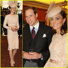 Prince William & Kate: Diamond Jubilee Thanksgiving Service - Tuesday 5th June 2012