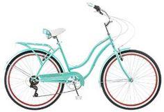 Schwinn 26″Blue Ladies 7 Speed Perla Cruiser Bike