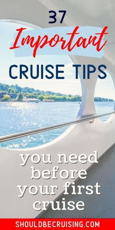 Are you thinking of taking your first cruise? Here are the 37 best cruise tips every first time cruiser must know before taking that cruise vacation. #cruisetips #cruise #cruising #firstcruise #travel #shouldbecruising