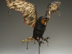 owl, found objects, geoffrey gorman