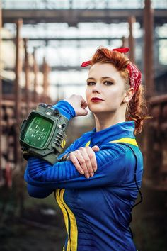 Fallout 4 Vault 111 | fallout_4_vault_dweller_cosplay_by_baty_alquawen_and_lifestalking ... Video Game Cosplay, Epic Cosplay, Amazing Cosplay, Cosplay Girls, Avatar Cosplay, Marvel Cosplay, Disney Cosplay, Cosplay Fallout, Fallout 4 Costume