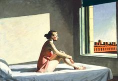 Edward Hopper, Morning Sun. 1952.