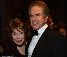 Perspective: 'We know how difficult it was for him, but it was also for me,' said MacLaine (above with Beatty in 2012)