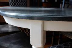 Antsi-Pants: Chalk Paint Kitchen Table