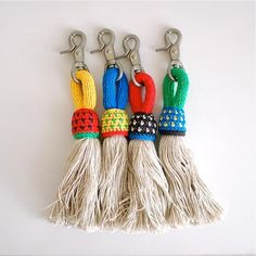 Put them on your cinch instead of horsehair tassels!! So cute!!