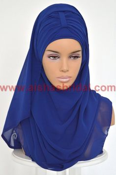 Express Hijab With Bun Code: PTS-0001 Anti Slip by HAZIRTURBAN