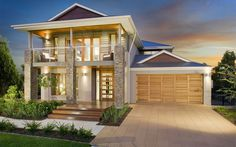 Liberty Ext 03, New Home Designs - Metricon