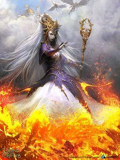 Origin Goddess - regular by Svetlin Velinov on deviantART