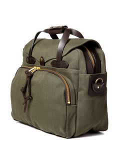 FILSON  Canvas Padded Laptop Briefcase
