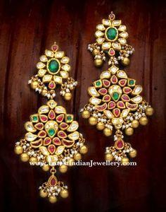 Classy Kundan Jadau Earrings