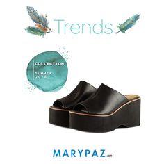 ¡ Descubre nuestros MULE de PLATAFORMA que querrás tener en  tu armario ya !  Trends by MARYPAZ   #trends #novedades #new #shoesobssession #obsesionadaconloszapatos #obsesion #tendencias #locaporlamoda #springsummer #primaveraverano #SS16 #BFF #bestfashonablefriends   Compra ya tu MULE de PLATAFORMA aquí ► http://www.marypaz.com/mule-de-tacon-y-plataforma-0424216v671-74020.html