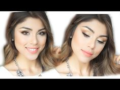 TUTORIAL PARA SAN VALENTIN! ♡ (Maquillaje + Peinado) - YouTube