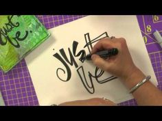 Fall in love with your own handwriting to create an authentic personal lettering style. Join artist Joanne Sharpe to learn 12 fresh writing, design, and drawing techniques. Experience and master the features and functionality of assorted pens, inks, brushes, markers, parallel pens, and paints for art journaling and mixed-media projects. Embrace ...