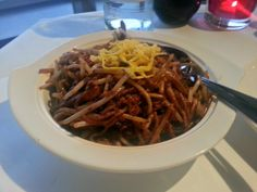 Min Jiang – Fried noodles with sliced duck