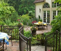 The patios we're featuring here show different ways of creating privacy and comfort: http://www.bhg.com/home-improvement/patio/designs/transform-your-patio/?socsrc=bhgpin030514makeyourpatioadestination