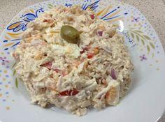 kotosalata Greek Recipes, Desert Recipes, Cookbook Recipes, Cooking Recipes, Healthy Salads, Healthy Recipes, Salad Bar, Appetizer Dips, Savoury Dishes