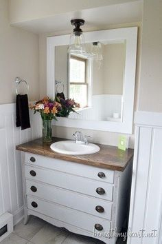 I Needed A Cheap Solution For The Vanity Top In Our Bathroom And Gorgeous Shop Bathroom Vanities Design Ideas