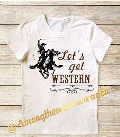 Western inspired tee's! @Amongthewillowwagon on Instagram!