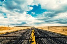 I Come From Nowhere - Landscape Photography - Open Road Photo - American West Art Print - Travel Photography on Etsy, $32.00