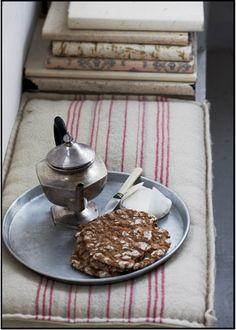 tea and books. #reading, #tea