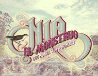 Nía y el Monstruo que nunca tuvo nombre by Victors Comics, via Behance