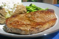 This might even be better than grilling and is just as easy!  (No joke!)  Super tender, super juicy, super flavorful!  Cant go wrong with Alton Brown!  Note: Cooking time includes time to bring steaks to room temperature.