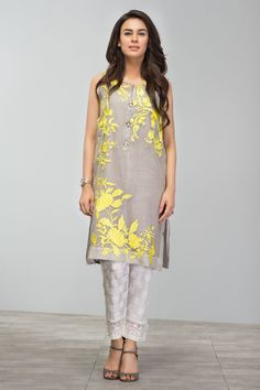 Khaadi - Embroidered Kurta - Khaas