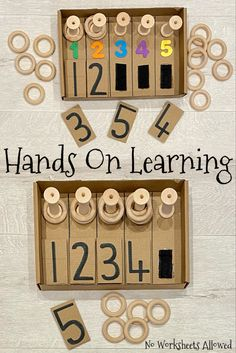 Visit No Worksheets Allowed for interactive and multi-sensory games and activities. Perfect for advocates of hands on learning! #handsonlearning #playbasedlearning #learningthroughplay