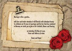 AI_017 Anniversary Invitations, Flourish, Invite, Monkey, Marriage, Reusable Tote Bags, Valentines Day Weddings, Playsuit, Birthday Invitations
