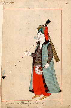 jeannepompadour:  Illustrations from the Ottoman Rålamb Costume...