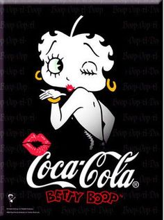 Betty Boop and Coca Cola