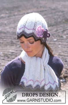 Hat, Scarf and Gloves in Alpaca ~ DROPS Design