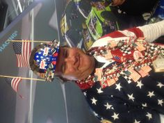 Another great NASCAR fan spotted at the 2012 Daytona 500