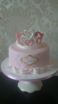 princess birthday cake By mosesparis on CakeCentral.com