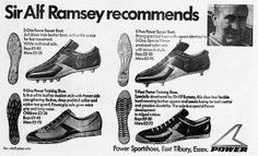 Ad for Power Shoes from Bata, 1972