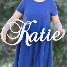 """Custom Personalized Wooden Name Sign 8-24"""" tall - CHARLOTTE Font Letters Baby Name Plaque PAINTED nursery name nursery decor wooden wall art, above a crib"""