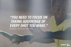 Professional tennis player, Gaël Monfils, gives a tip which has helped him get to the top of the game. #betteryourbest