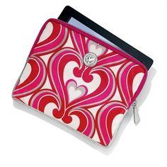 Brighton Twirly Hearts iPad Case #VonMaur #Brighton #iPadCase #Hearts